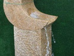 WATER MOON GRANITE WATER FEATURE