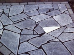 Black Marble Crazy Paving