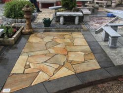 Yellow Quartz Crazy Paving