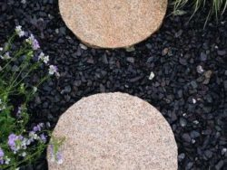 Burnt Barley Granite Stepping Stones