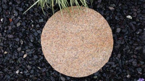 Burnt Barley Granite Stepping Stones