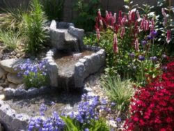Granite Stream Water Feature