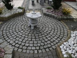 Silver Grey Granite Setts