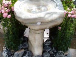 Natural Stone Birdbath (Nacre 64)