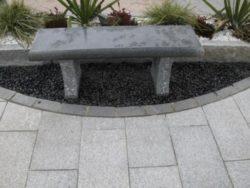 Dark Grey Granite Bench (BC11)