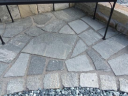 Grey Quartz Crazy Paving
