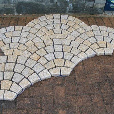 Beige Granite Fantail