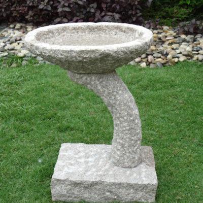 Arched Column Bird-Bath