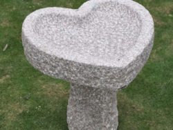 Natural Stone Bird-Bath