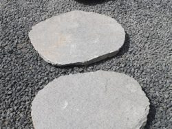 GREY QUARTZ STEPPING STONES