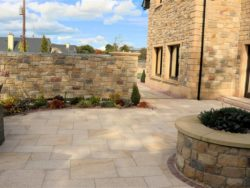 BURNT BARLEY 3 SIZE MIX GRANITE PAVING