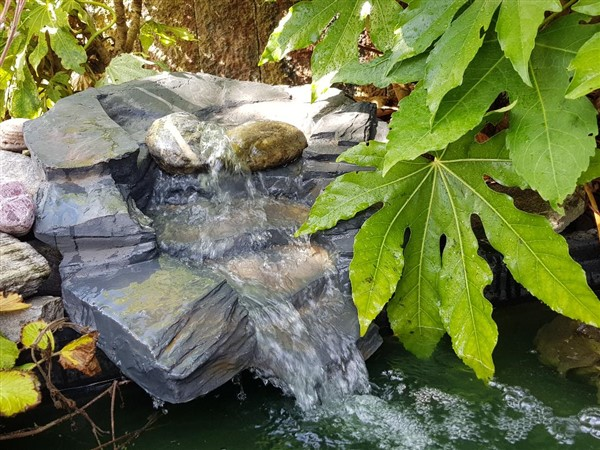 RESIN STREAM WATERFALL NAVAN DISPLAY AREA