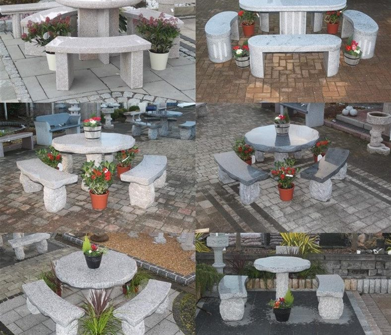 Invest In Your Garden With Granite Furniture!